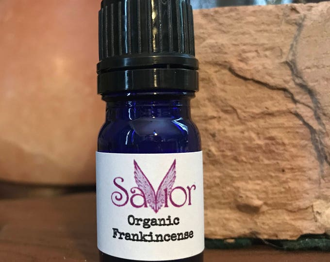 100% Organic Frankincense Essential Oil