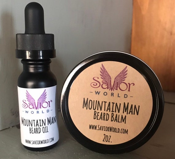 Mountain Man Beard Oil & Balm