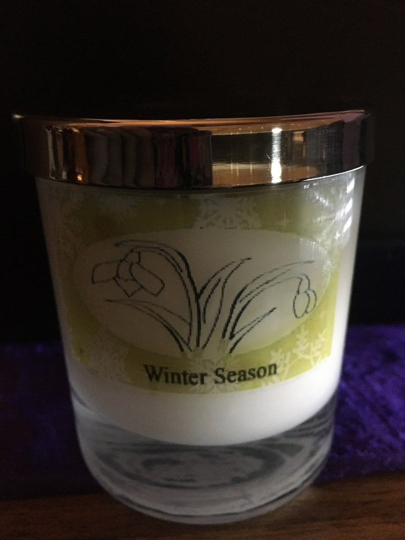 Winter Season Container Candle image 0