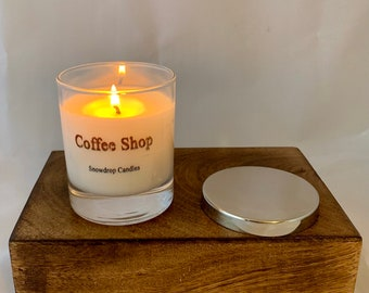 Coffee shop candle ( Coffee Mocha scented)