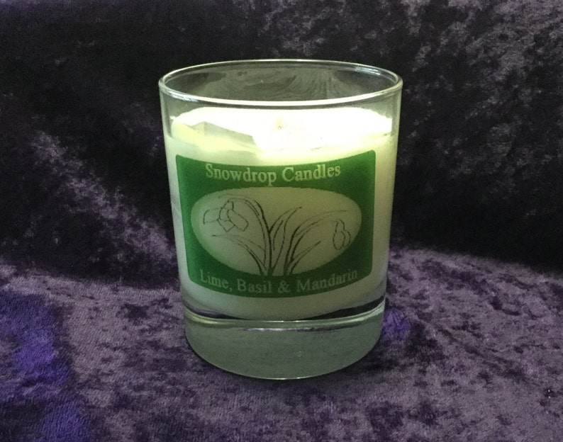 Lime Basil and Mandarin container candle image 0