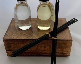 Reed diffuser refills, 100ml bottle, home fragrance, various scents