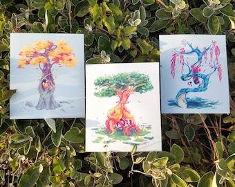 FANTASY TREES - Original artwork Gicleé PRINTS