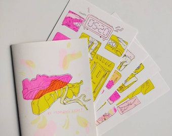 By Morning Light - LIMITED EDITION - RISO Comic Print set