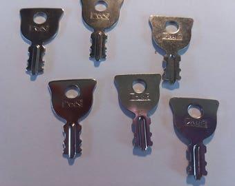 Vintage Long Lock Key