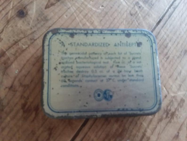 Vintage Sucrets Tin