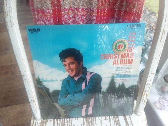 Elvis Christmas Album.Vintage Elvis Christmas Album