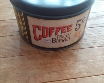 Vintage Mr Coffee Limited Edition Collector Tin