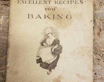 Excellent Recipes for Baking with Fleischmann's Yeast Vintage Cookbook