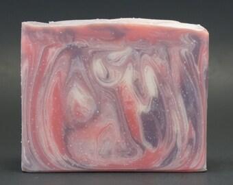 Black Raspberry and Vanilla Cold Process Handmade Soap