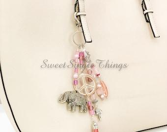 Keychain, pocket tree, pocket pendant, keychain, keyfob, bag charms, jewelry, gift, poison, accessories, unique piece, fashion