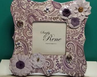 Purple Paisley
