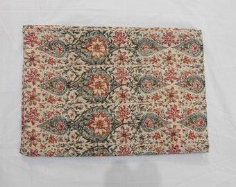 Vintage Kantha Quilt Indian Kantha Quilt Kantha Bedcover Cotton Blanket Gudari