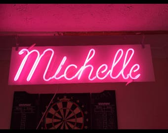 Your name in neon