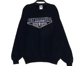 5e1835c4a67 Vintage OAKLAND RAIDERS sweatshirt Vtg REYNOLDSBURG Raiders Crewneck  Pullover Jumper Jacket Usa