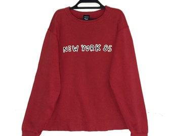 e246e1147 K.haring Spell out Sweatshirt Crewneck Pop Art Keith Haring NEW YORK 85  Skateboards Pullover Jumper Jacket