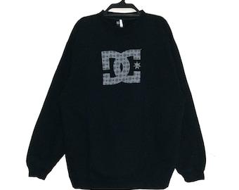 b926c1ee970d Vintage DC DCSHOECOUSA Sweatshirt Vintage DC Usa Crewneck Pullover big Logo  Skater Jumper Jacket Hip hop Street made in Usa