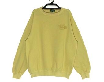 2bb360bd5 Rare!!! Vintage KENZO Paris Spellout Embroidered Sweatshirt crewneck  Pullovers Vtg Kenzo Golf Jacket M size