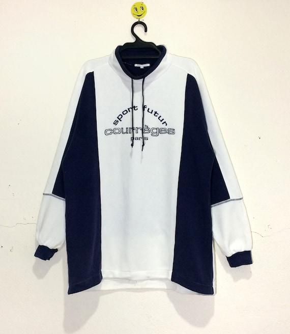 Rare!!! Vintage Courreges Sweatshirt pullover Vtg