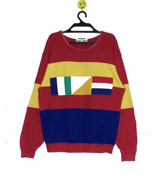 Rare!!! Vintage McGREGOR Usa Multicolour Sweatshir