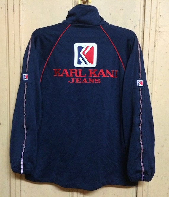 RARE!! Karl Kani Big Logo Big Spellout Front And Back Embroidery Bright Color Kani Jeans Sweatshirt Jumper Sweater Hoodies Jacket Tshirt JoChRW3JO