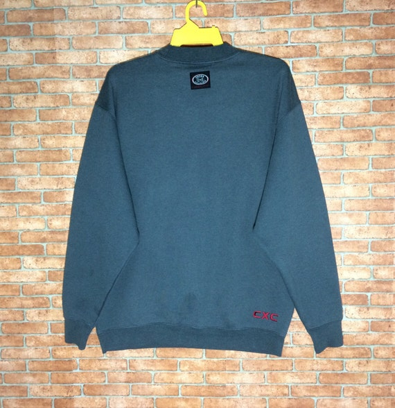 Rare!!! Cross Colours sweatshirt Pullover Crewnec… - image 3