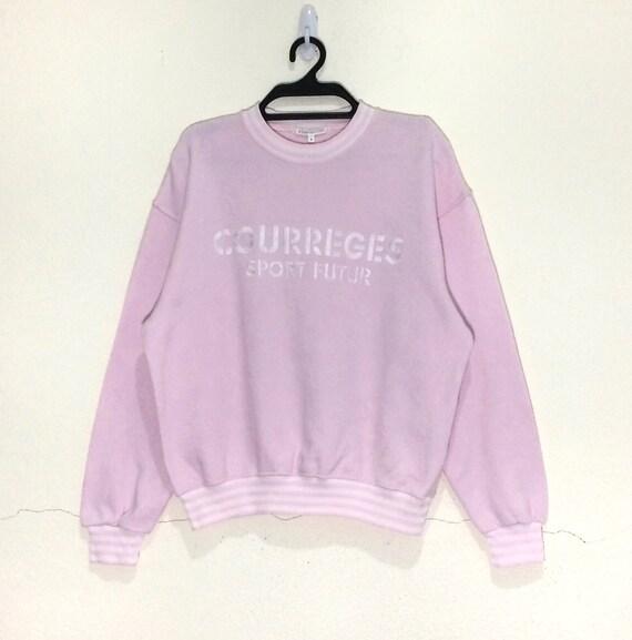 Rare!!! Vintage Courreges Paris Sweatshirt pullove