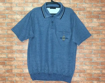Rare!!! Gianni Valentino ITALY Sweatshirt Short Sleeve Spellout Embroidered Pullover GV Crewneck Jacket