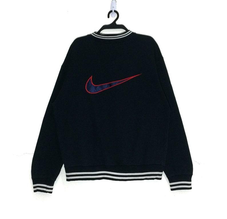341c4721d6b Rare Vintage Nike spell Out Big Logo Sweatshirt Vtg Nike | Etsy