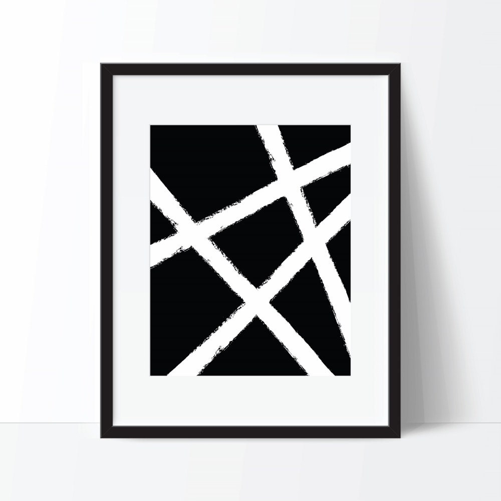 Abstract print black and white art abstract art modern print modern digital print abstract printable abstract poster modern poster