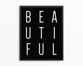 Fashion Art, Black and White Art, Fashion Print, Fashion Quote Art, Fashion Poster, Fashion Printable, Fashion Digital Print