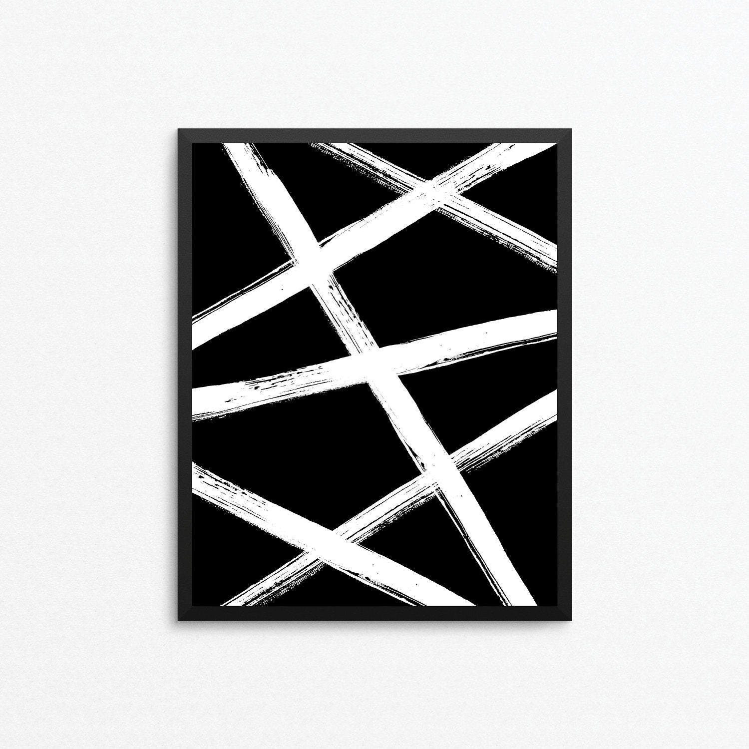 Abstract art abstract print minimalist art black and white art modern print abstract digital print abstract printable abstract poster