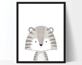 Animal Print, Nursery Art, Nursery Printable, Nursery Print, Kids Print, Childrens Art, Animal Printable, Nursery Animal Art, Nursery Poster