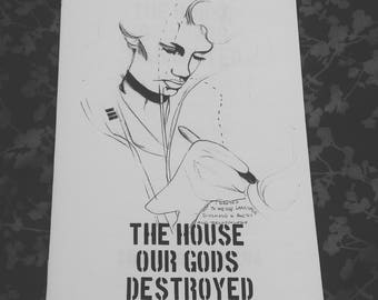 The House Our Gods Destroyed - poetry zine
