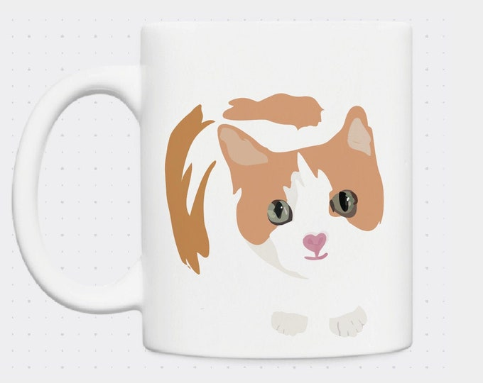 Mug didouch cat
