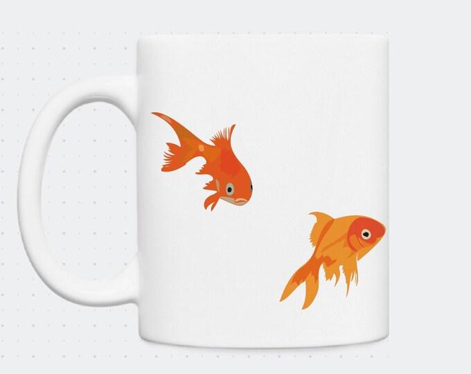 Mug didouch goldfish