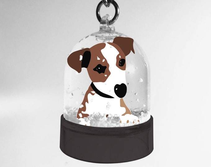 Snowball key ring of the dog the jack of didouch