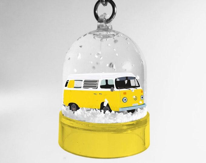 Snowball keyring yellow van didouch