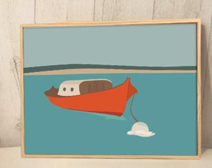 orange pinnacle - Art print, limited series on large formats