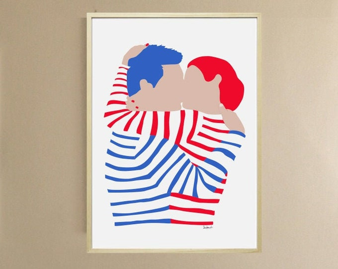Poster - Art Printing didouch's kiss