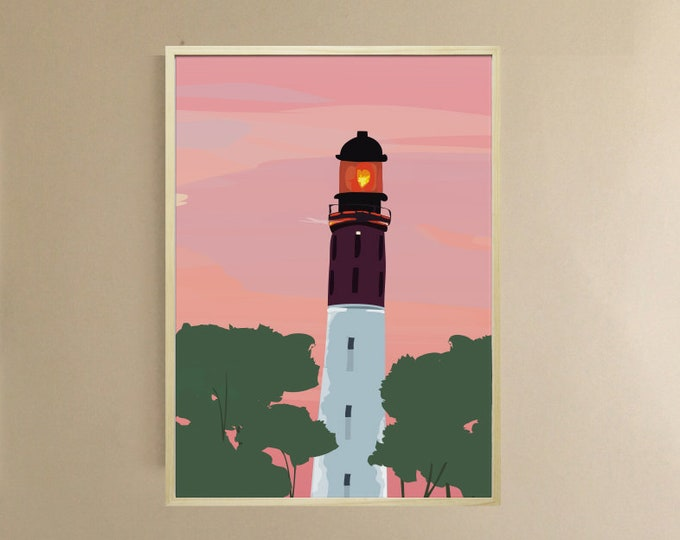 AFFICHE 3 formats - the night belongs to us - didouch Lighthouse