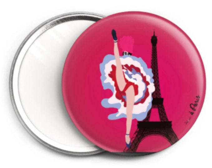 Mirror, the didouch cancan in Paris