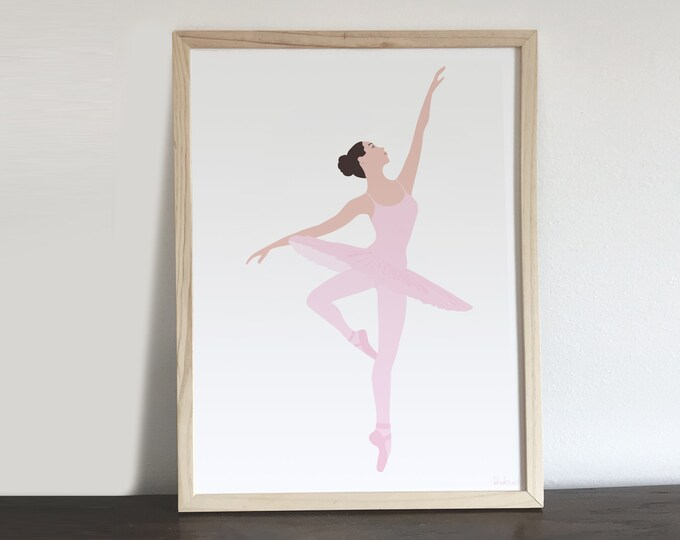 ART'PRINT the ballerina - character collection
