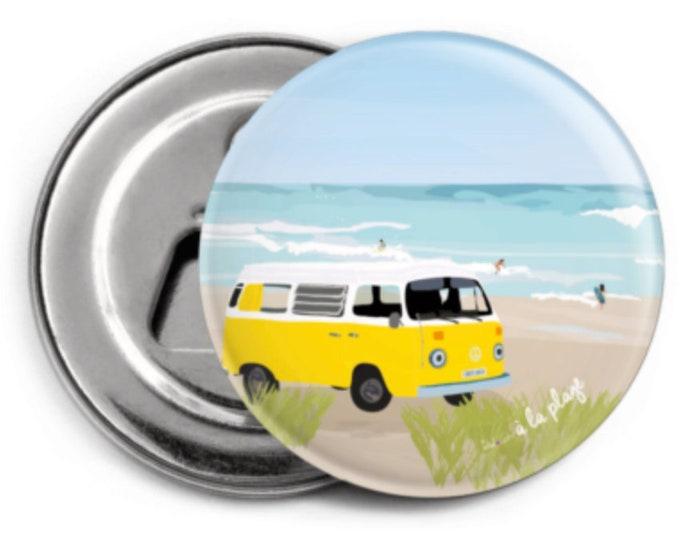 Stripper - Magnet: Van at the beach