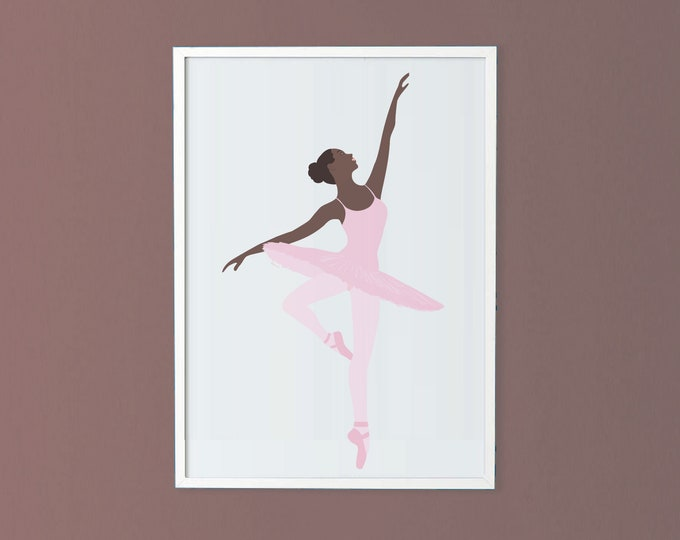 Ballerina 50x70