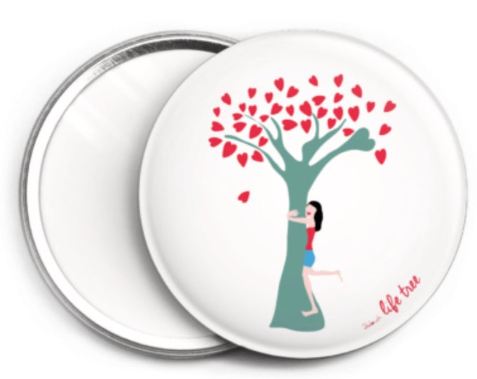 Mirror - 76 mm didouch life tree