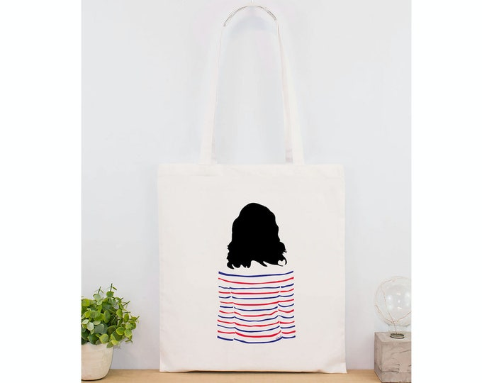 Totebag her / the brunette - the blonde