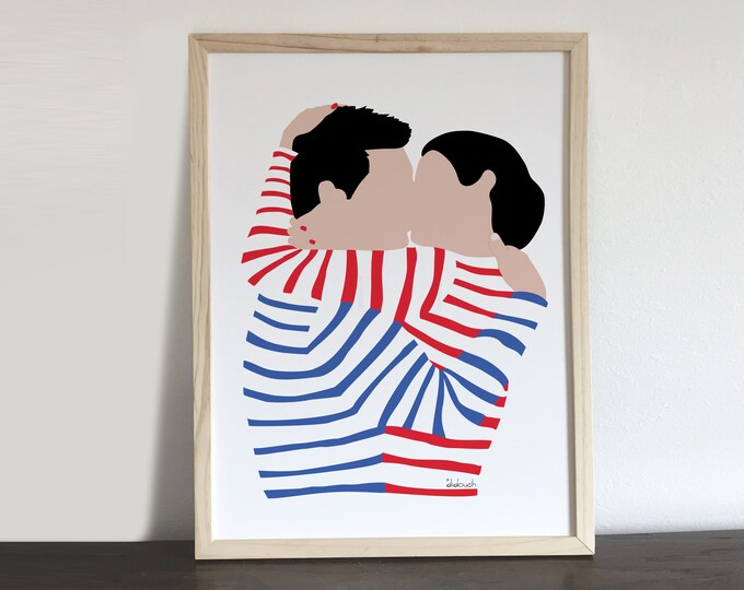 ART'PRINT didouch kisses
