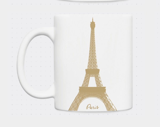 Mug Eiffel Tower in Didouch Paris
