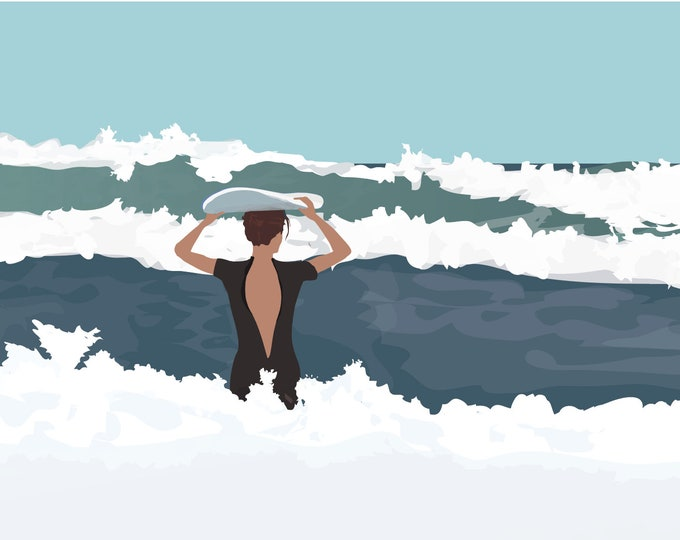ART'PRINT Ocean 2 - surf collection